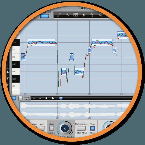 Auto-tune editing badge