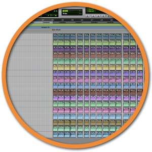 Drum editing badge