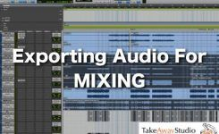 How to export audio tracks from your DAW for mixing