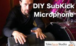 Easy DIY SubKick Microphone