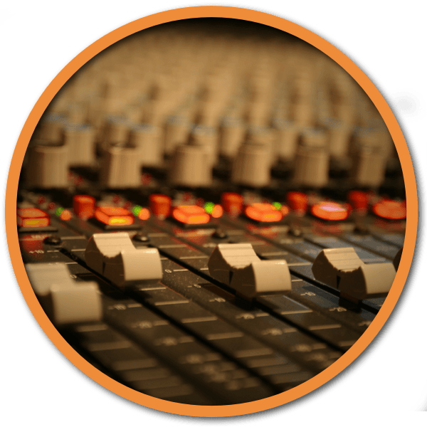 Online Mixing Services Faders